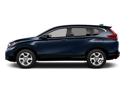 2017 Honda CR-V EX-L AWD EX-L AWD New 4 dr SUV CVT Gasoline 1.5L 4 Cyl Obsidian Blue Pearl