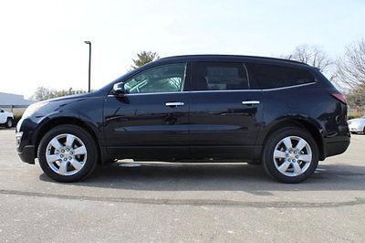 2017 Chevrolet Traverse AWD 4dr LT w/1LT AWD 4dr LT w/1LT New SUV Automatic Gasoline 3.6L V6 Cyl Blue Velvet Metallic