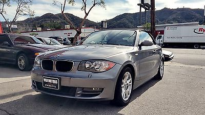 2009 BMW 1-Series Convertible 2009 BMW 128i Convertible. Low miles! Drives and looks great! Autocheck