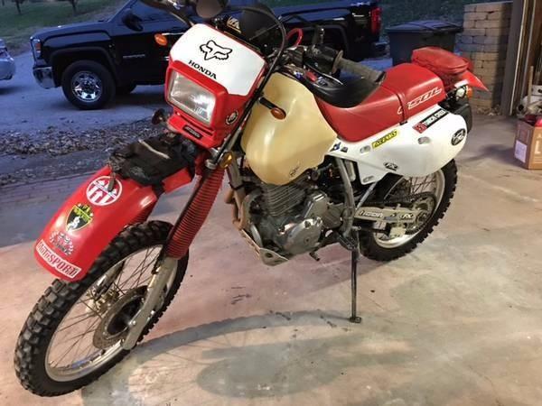 2002 Honda XR650L