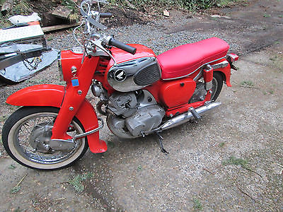 1965 Honda CA  1965 Honda 305 Dream-runs great-Beautiful classic Honda