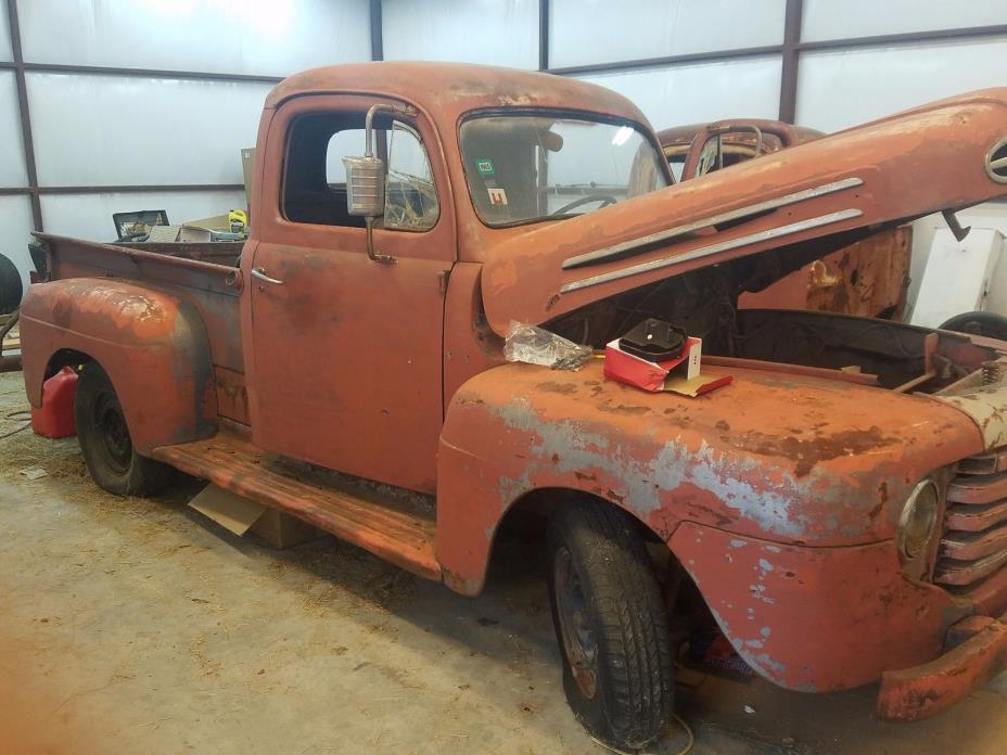 1948 Ford Other Pickups  1948 and 1949 FORD PICKUPS WITH PARTS TO RESTORE ONE OF THEM