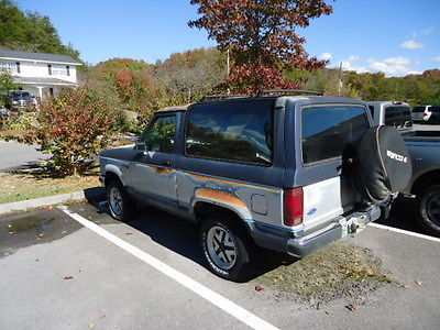 1990 Ford Bronco II XLT 1990 FORD BRONCO II XLT