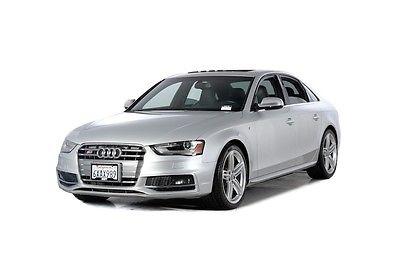2013 Audi S4 Premium Plus 2013 Audi S4 Premium Plus 44000 Miles Silver 4dr Car V6 Cylinder Engine 3.0L/183