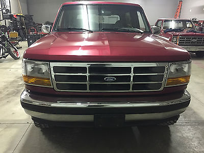 1995 Ford Bronco Bronco 1995 Ford Bronco 5.8 4x4 clean original paint