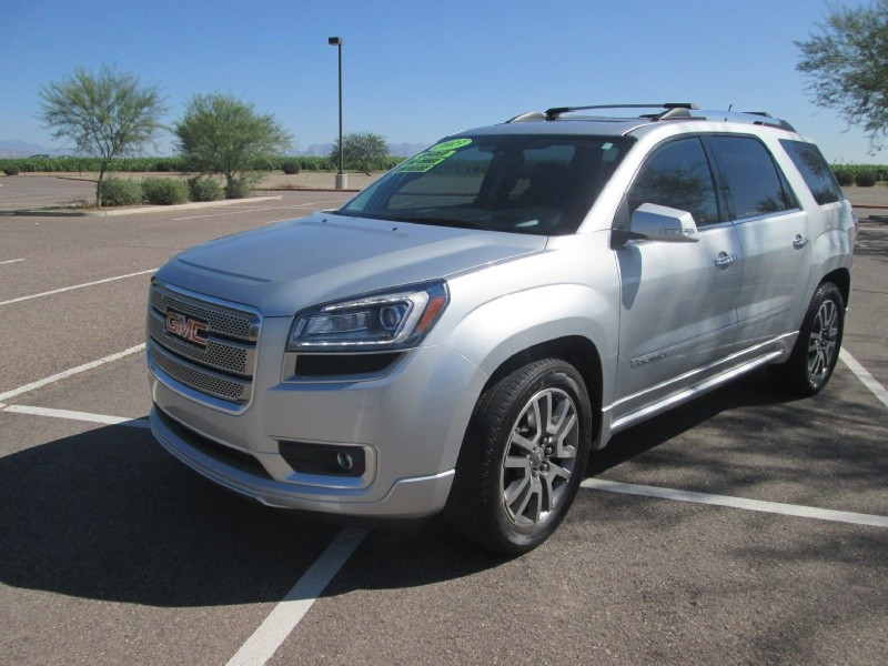 2013 GMC Acadia FWD 4dr Denali  CAN BE LIFTED LOADED ONE OWNER CARFAX CERTIFIED