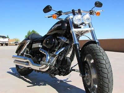 2008 Harley-Davidson Dyna  LOW MILES! 08 HARLEY FAT BOB FXDF LIKE NEW GARAGE QUEEN! LESS THAN 2K MILES!