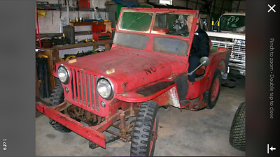 1948 Willys cj2a  willys cj2a