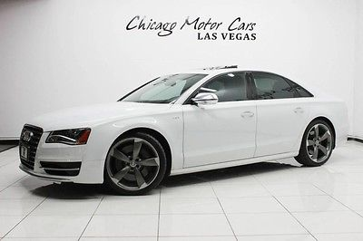 2014 Audi S8 2014 Audi S8 Quattro Sedan $121k+MSRP Bang & Olufsen Sound Cold Weather Package!