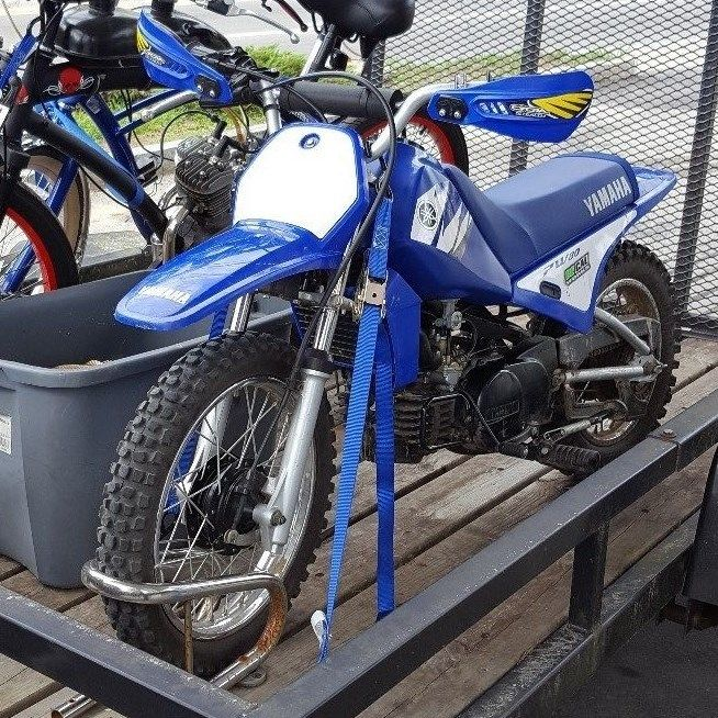 yamaha pw 80 dirt bike motorcycles for sale. Black Bedroom Furniture Sets. Home Design Ideas