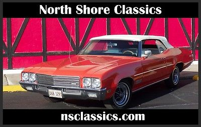 1971 Buick Skylark -CONVERTIBLE- NUMBERS MATCHING- HUGGER ORANGE- SEE 1971 Buick Skylark -CONVERTIBLE- NUMBERS MATCHING- HUGGER ORANGE-