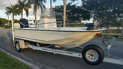 1850 Wahoo Open SportFish- 1995 with 135 hp Mercury Black Max
