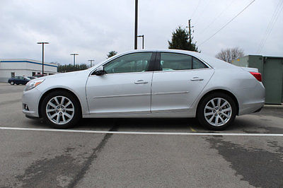 2015 Chevrolet Malibu 4dr Sedan LT w/2LT 4dr Sedan LT w/2LT Automatic Gasoline 2.5L 4 Cyl SILVER ICE METALLIC