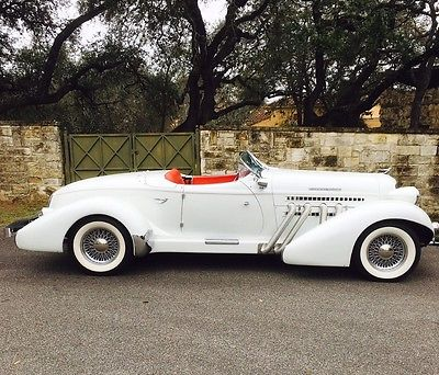 1936 Replica/Kit Makes AUBURN BOAT TAIL SPEEDSTER 1936 AUBURN BOATTAIL BUILT BY SPEEDSTER MOTORCARS COLLECTOR CAR 600 MILES