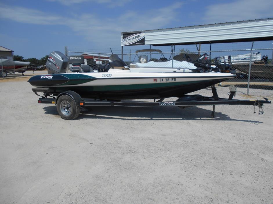 Triton Boats Tr18 Vehicles For Sale
