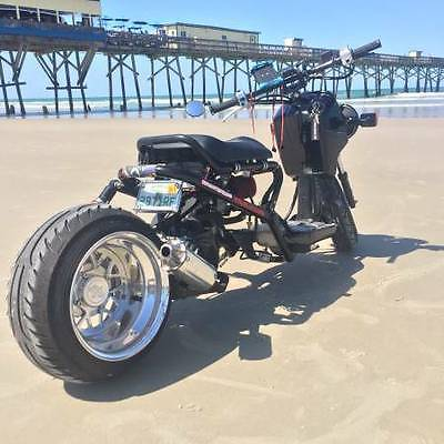 Honda Ruckus 150cc Custom Lowered Stretched motorcycles