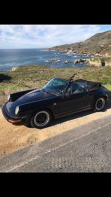 1984 Porsche 911 911 Euro Cabriolet 1984 PORSCHE 911 CABRIOLET EUROPEAN MODEL