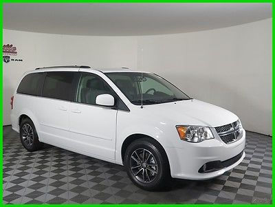 2017 Dodge Grand Caravan SXT FWD V6 Van Navigation DVD Player Leather Seats 2017 Dodge Grand Caravan FWD Van Backup Camera 6 Speakers Remote Start AUX USB