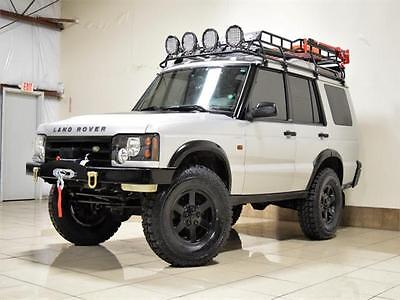 2004 Land Rover Discovery S 2004 SAFARI LAND ROVER DISCOVERY 2 SERIES II LIFTED ONE OF THE KIND OFFROADING