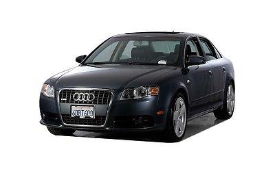 2008 Audi A4 2.0T 2008 Audi A4 2.0T 48331 Miles Gray 4D Sedan 2.0L 4-Cylinder FSI DOHC 6-Speed Man