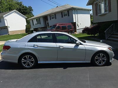 2014 Mercedes-Benz E-Class 4 Door 4Matic BlueTec Sport Mercedes Benz E250 BlueTec 4Matic Sport