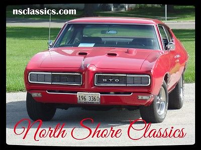 1968 Pontiac GTO -RED AND READY-REAL 242 GTO-GREAT QUALITY CONDITIO 1968 Pontiac GTO -RED AND READY-REAL 242 GTO-MAKE US AN OFFER
