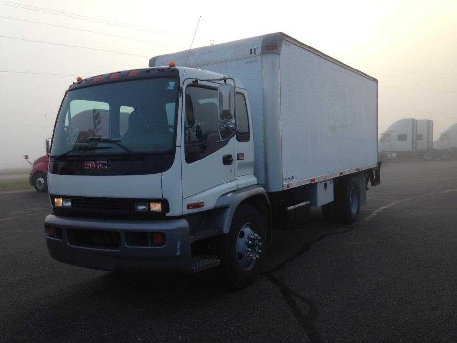 2007 Gmc T7500 Box Truck - Straight Truck