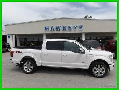 2015 Ford F-150 Platinum 2015 Platinum Used Certified Turbo 3.5L V6 24V Automatic 4WD Premium