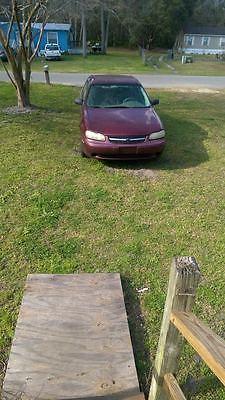 2001 Chevrolet Malibu  2001 Chevy Malibu burgundy