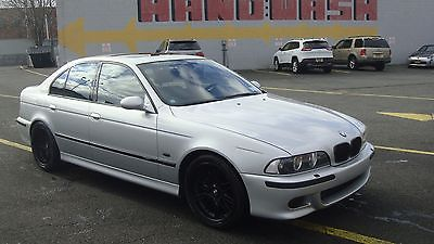 2000 BMW M5 2000 M5 Silver with Two tone interior fully loaded