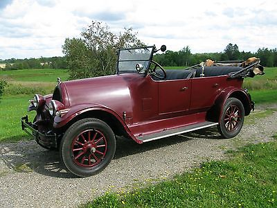 1925 Other Makes 10  1925 Franklin open Touring Car Model 10