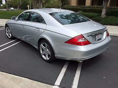2007 Mercedes-Benz CLS-Class silver mercedes banz in ebay motors