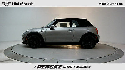 2017 Mini Cooper Cooper 2 Door Cooper 2 Door New Convertible Automatic Gasoline 1.5L 3 Cyl Melting Silver Metal