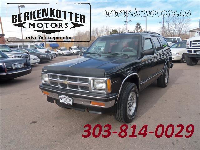 1994 Chevrolet S-10 Blazer 4x4