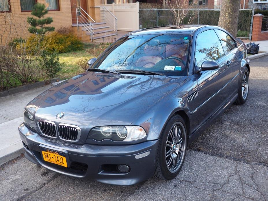 2002 BMW M3 BMW 2002 M3 6-speed manual, grey with red leather interior