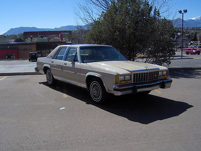 1986 Ford Crown Victoria LX 1986 Ford LTD Crown Victoria