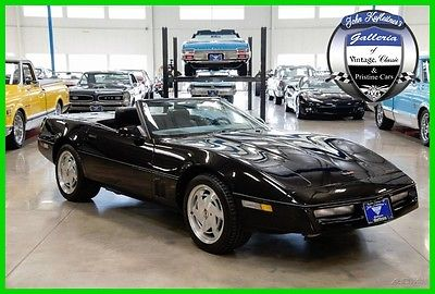 1989 Chevrolet Corvette Base Convertible 2-Door 1989 Used 5.7L V8 16V Automatic RWD