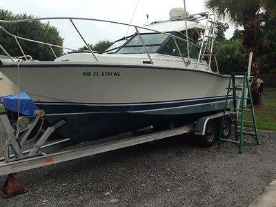 1987 Rampage 24 Sportfish Boat