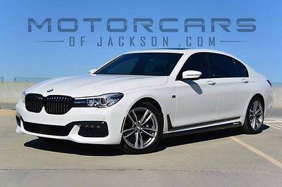 2016 BMW 7-Series 740i MSport Long Wheel Base Luxury Sedan 16 BMW 740i LWB M Sport Executive Pkg Driver Assistance Plus II 750Li 2017 Li