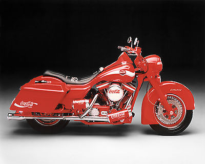 1996 Custom Built Motorcycles Coca-Cola Road King  Extremely Rare Coca-Cola Motorcycle