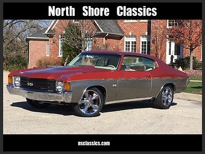 1972 Chevrolet Chevelle -SHOW CAR-HIGH END CUSTOM PRO TOURING BUILD-SEE VI 1972 Chevrolet Chevelle -SHOW CAR-HIGH END CUSTOM PRO TOURING BUILD-MAKE OFFER