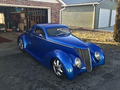 1937 Ford STREET ROD  1937 FORD STREET ROD 302 C4 AC PWR BRAKES STEERING CD ONLY 3000 MILES