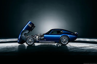 1965 Replica/Kit Makes Brock Daytona One of original 6!! Superperformance Brock Daytona Coupe (Shelby Cobra)