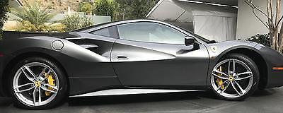 2016 Ferrari Other -- 2016 Ferrari 488 GTB  149 Miles Grigio Silverstone Metallic 2dr Car 8 Cylinder E