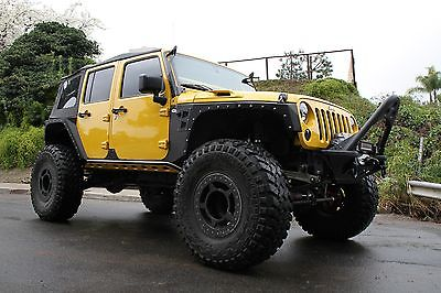 2011 Jeep Wrangler Unlimited Rubicon No Expense Spared Rock Crawler, 40