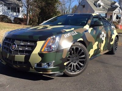 2011 Cadillac CTS Premium Coupe 2-Door 2011 Cadillac CTS Premium Coupe 2-Door 3.6L AWD very clean, military, army wrap