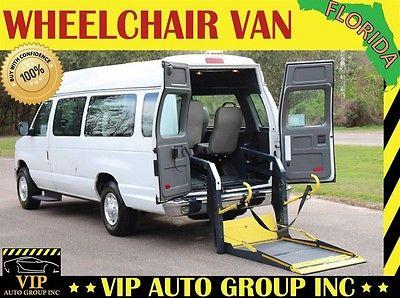 2012 Ford E-Series Van Base Standard Cargo Van 3-Door 2012 Ford Handicap Wheelchair Van Power Ricon Lift Ramp Van
