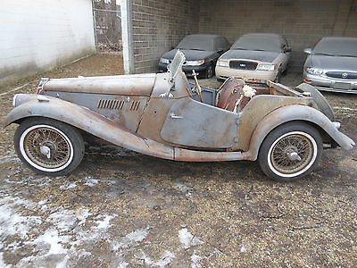 1955 MG T-Series 1955 mg tf 1500 mgtf mg tf running matching numbers project