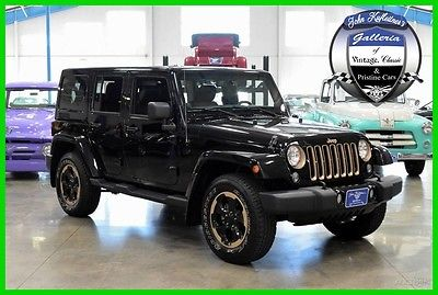 2014 Jeep Wrangler Dragon Edition 2014 Dragon Edition Used 3.6L V6 24V Automatic Four Wheel Drive SUV