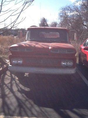 1960 Chevrolet C-10 Fire truck 1960 chevy apach